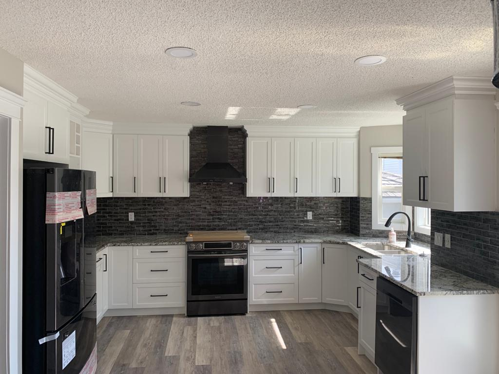 NE Calgary Kitchen Renovations